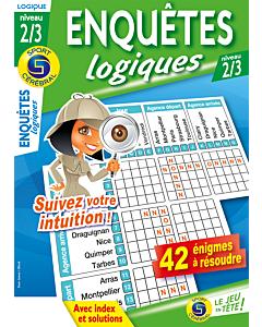 Enquêtes logiques Niveau 2/3 - Numéro 94