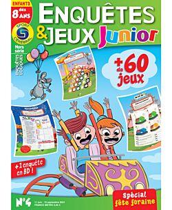 Enquêtes et Jeux Junior - Numéro 4