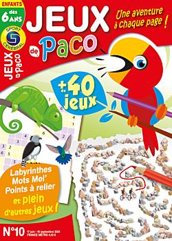 Jeux de Paco - Numéro 10