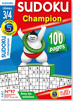 Sudoku Champion  - Numéro 97