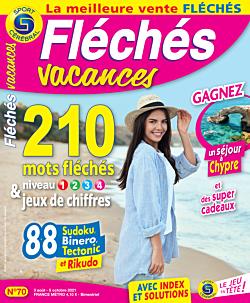 Fléchés Vacances N°70